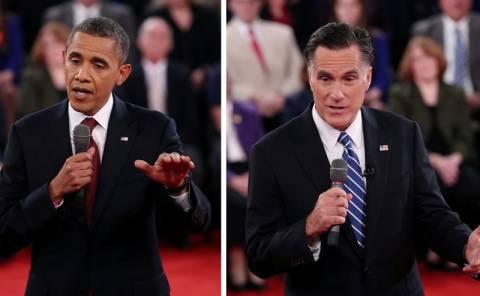 ΗΠΑ: Ο Ρόμνεϊ πέρασε μπροστά από τον Ομπάμα σε νέα δημοσκόπηση