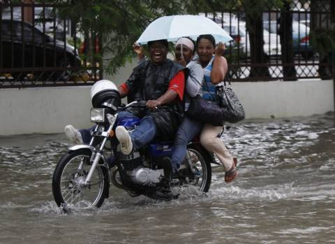 Ο τυφώνας Sandy έπληξε την Τζαμάικα
