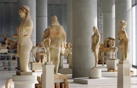 Ελεύθερη η είσοδος την Κυριακή στο Μουσείο της Ακρόπολης