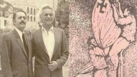 Χρυσή Αυγή: Ο Γλέζος δεν κατέβασε τη ναζιστική σημαία από την Ακρόπολη