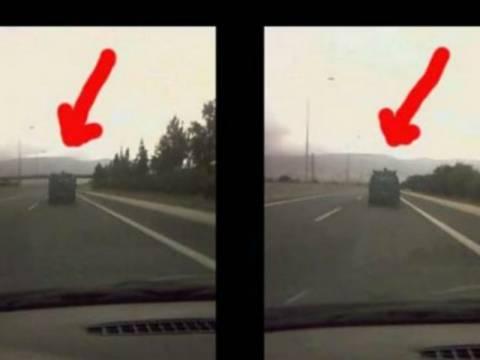 ΣΟΚ: Οδηγούσε στην Εθνική με σκύλο στην σχάρα του αυτοκίνητου! (ΦΩΤΟ)