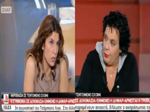 Έξαλλη η Λιάνα Κανέλλη – Αποχώρησε από την εκπομπή της Τσαπανίδου