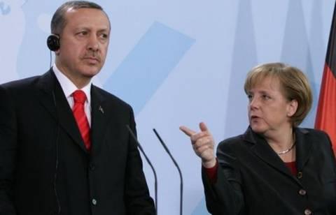 Συνάντηση Μέρκελ-Ερντογάν στο Βερολίνο