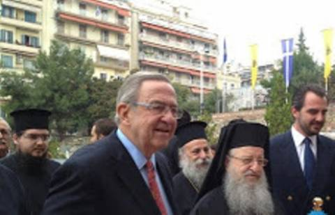 Και ο τέως βασιλιάς στον εορτασμό της Θεσσαλονίκης