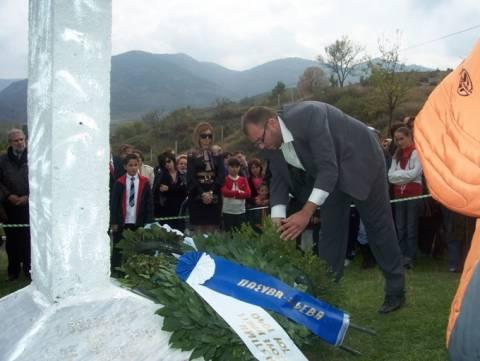 Βίντεο: Οι Έλληνες πεσόντες τιμήθηκαν στην Κορυτσά