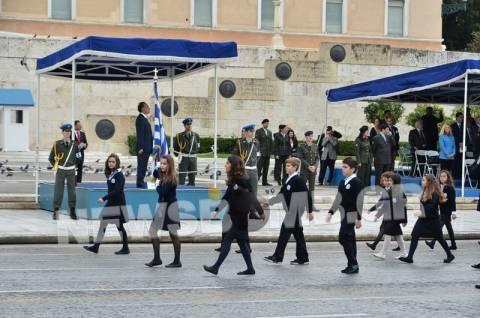 Ολοκληρώθηκαν οι παρελάσεις σε Αθήνα και Θεσσαλονίκη