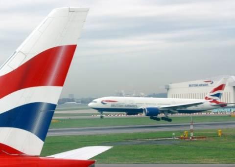 Ακύρωση πτήσεων προς τις ΗΠΑ από την British Airways