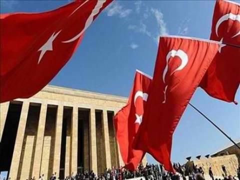 Εορτασμός στα κατεχόμενα για επέτειο ίδρυσης της Τουρκικής Δημοκρατίας