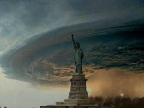 Τυφώνας Σάντι: Η φωτογραφία που κάνει τον γύρο του κόσμου