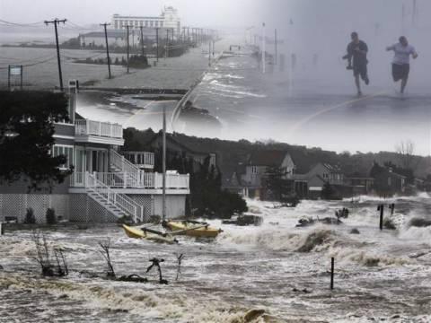Τυφώνας Σάντι: Έσπασε φράγμα στο Νιου Τζέρσι