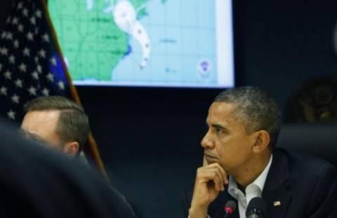 Ομπάμα: Σε κατάσταση «μέγιστης καταστροφής» Νέα Υόρκη-Νιου Τζέρσι
