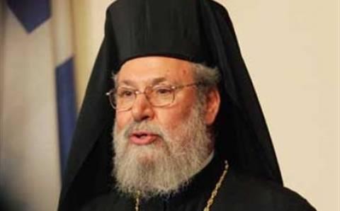 Αρχιεπίσκοπος Κύπρου:Ανησυχεί για ενδεχόμενη «κακή συμφωνία» με Τρόικα