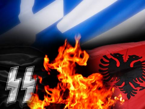 Αλβανική ναζιστική οργάνωση πραγματοποιεί εκδήλωση στην Αθήνα!
