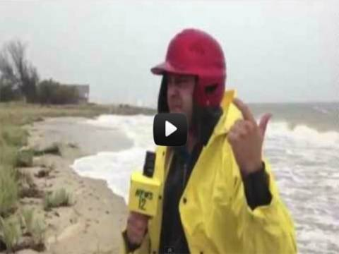Βίντεο: Τα... κουφά του τυφώνα Σάντι