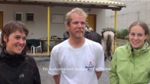 Βίντεο: Από τη Γαλλία στην Ελλάδα με το άλογο