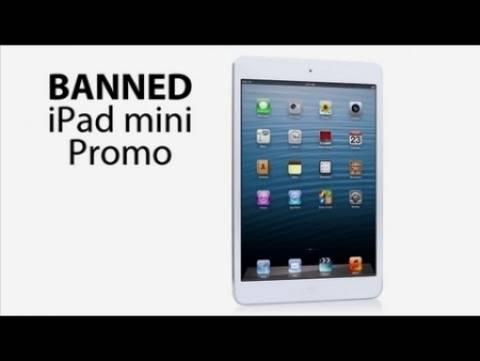 Το απαγορευμένο promo για το νέο iPad mini