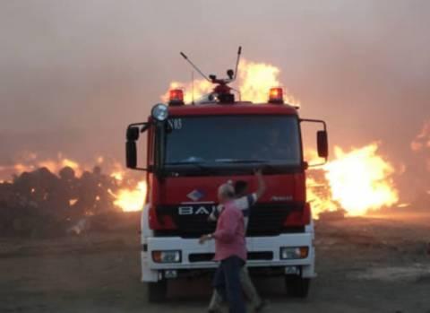 Πυρκαγιά σε παράνομη χωματερή στην Κρήτη