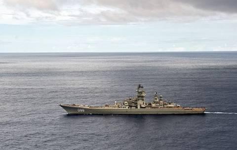 Η ναυαρχίδα του ρωσικού Στόλου κατεβαίνει...στην Μεσόγειο!