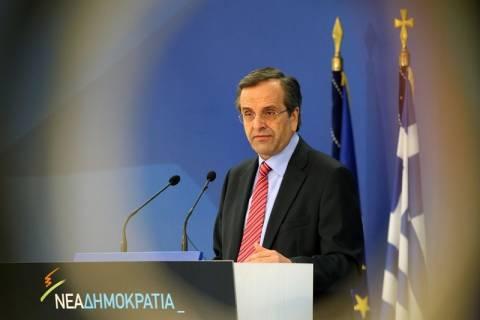 Α. Σαμαράς: Η ψήφιση των μέτρων πρέπει να γίνει άμεσα