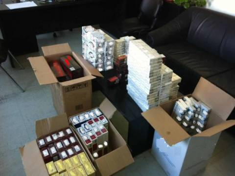 Ξάνθη: Συνελήφθη με 1.500 λαθραία πακέτα τσιγάρων!