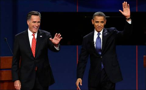 ΗΠΑ: Στην τελική ευθεία για τις εκλογές Ομπάμα και Ρόμνεϊ