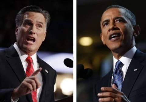 Οι πρώτες ψήφοι για Ομπάμα και Ρόμνεϊ