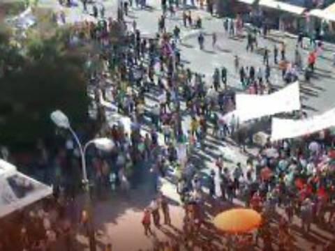 Δείτε LIVE εικόνα από την Πλατεία Συντάγματος
