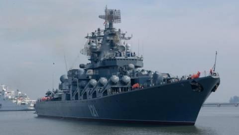 Η ναυαρχίδα του ρωσικού Στόλου κάνει καψόνια...στους Τούρκους