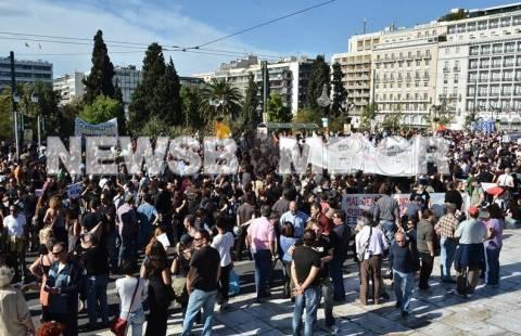 Ολοκληρώθηκαν τα συλλαλητήρια στην Αθήνα