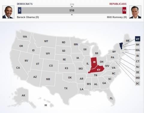 Εκλογές ΗΠΑ: Τα πρώτα exit poll