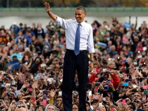 Ο Μπαράκ Ομπάμα για δεύτερη θητεία στο Λευκό Οίκο