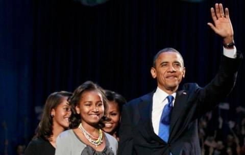 Νίκη Ομπάμα: Η ίδια σκηνή τέσσερα χρόνια μετά