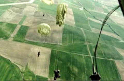 Άσκηση αεραπόβασης στην Κύπρο