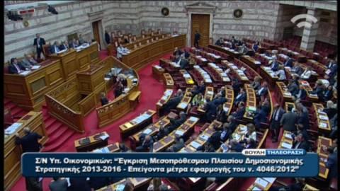 Αποχώρησε ο ΣΥΡΙΖΑ από τη Βουλή