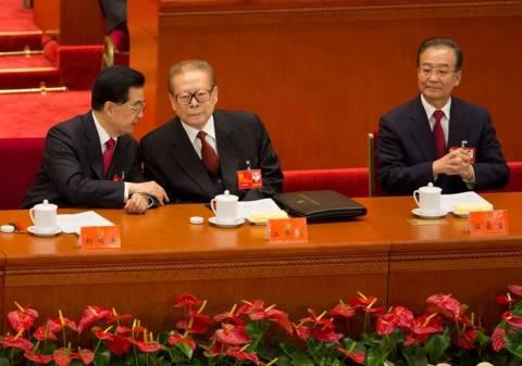 Κίνα: Ο πρόεδρος Χου Ζιντάο καλωσόρισε τον διάδοχό του