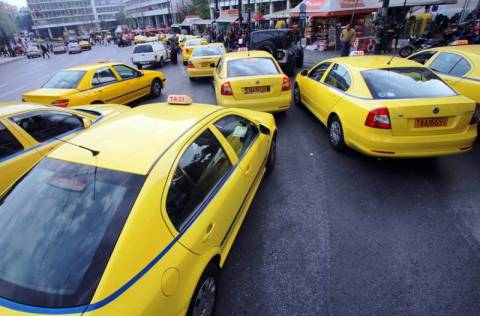 Και πάλι στους δρόμους τα ταξί