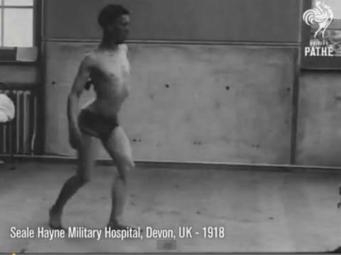 Στρατιώτες θεραπεύονται από το σοκ του Ά Παγκoσμίου πολέμου (vid)