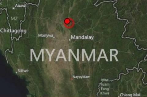 Σεισμός 6,6 Ρίχτερ στη Μιανμάρ