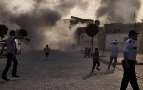 Βομβαρδισμοί στα τουρκο-συριακά σύνορα