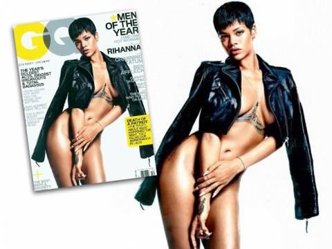 ΔΕΙΤΕ: Η Ριάνα ποζάρει ολόγυμνη στο νέο GQ