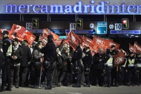 Γενική απεργία στην Ισπανία