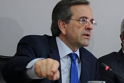Α.Σαμαράς: Ψήφος εμπιστοσύνης η συμφωνία Packard-COSCO-ΤραινΟΣΕ