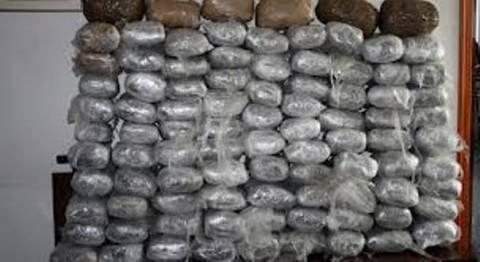 Βόλος: Έκρυβαν μεγάλη ποσότητα ναρκωτικών σε αποθήκη
