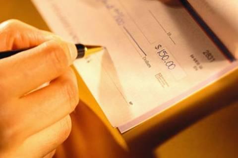Σε 1,1 δισ. ευρώ ανήλθε η αξία ακάλυπτων επιταγών το 10μηνο 2012