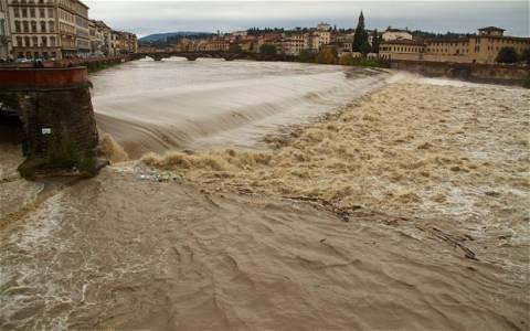 Ιταλία: Στους πέντε οι νεκροί από τις πλημμύρες στη Τοσκάνη