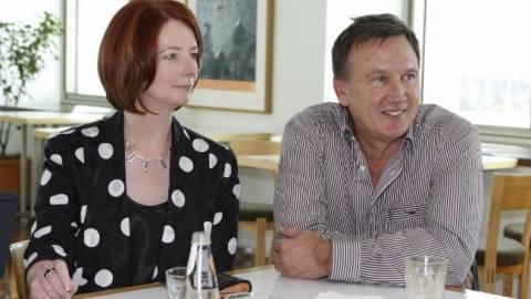 Ο πρώτος κύριος της Αυστραλίας αποκαλύπτει τα μυστικά της Γκίλαρντ!