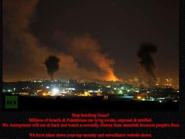 Anonymous: «Μπήκαν» στον πόλεμο Ισραήλ-Χαμάς