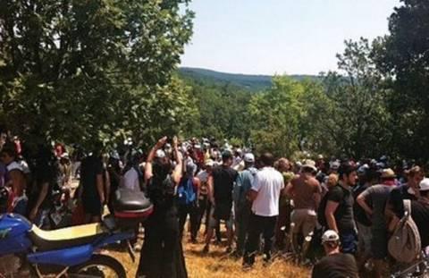 Νέα πορεία των κατοίκων της Χαλκιδικής στα ορυχεία