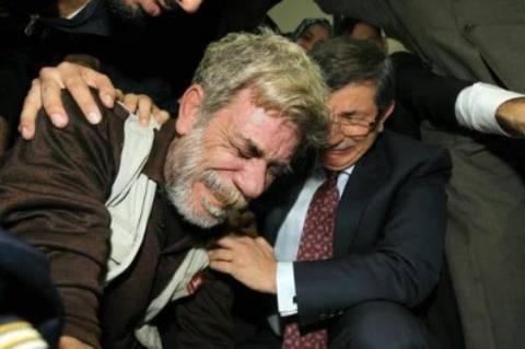 Σε κλάματα ξέσπασε ο Νταβούτογλου στη Γάζα