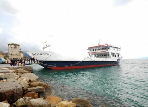 Μηχανική βλάβη στο πλοίο «Άξιον Εστί»